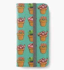 Poke-pot plants iPhone Wallet/Case/Skin