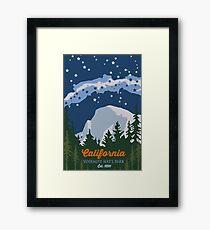 Yosemite National Park. Framed Print