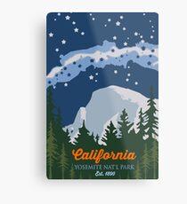 Yosemite National Park. Metal Print