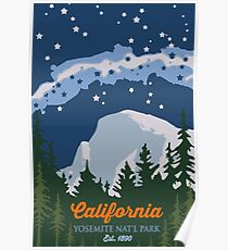 Yosemite Nationalpark. Poster