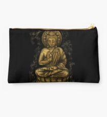 Zen Gold, Buddha 1 Studio Pouch