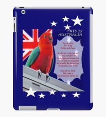 This Is Australia Poem iPad Case/Skin