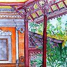 Balinese Veranda by leororing