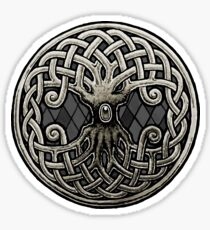 Yggdrasil Celtic Viking World Tree of Life Sticker
