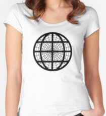 The Internet - The Web - Geek design Women's Fitted Scoop T-Shirt