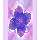 Purple Lotus Fractal  by judygal
