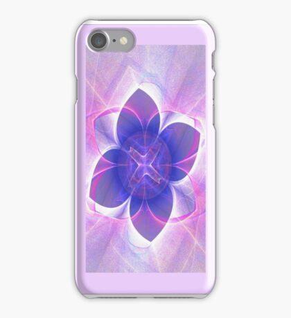 Purple Lotus Fractal  iPhone Case/Skin