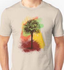 Grunge Palm Tree T-Shirt