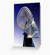 FASHION - GAULTIER (CARD) Greeting Card