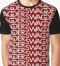 Swagger White Graphic T-Shirt