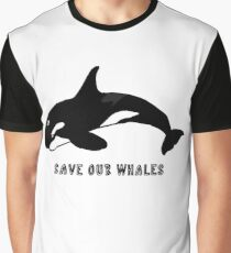 Save Our Whales Graphic T-Shirt