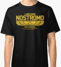 USCSS Nostromo Logo Alien Movie T-shirt Classic T-Shirt