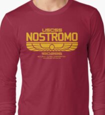 USCSS Nostromo Logo Alien Movie T-shirt T-Shirt