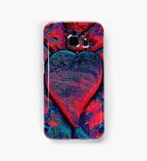 Flaming Heart Samsung Galaxy Case/Skin
