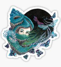Forest eyes Sticker