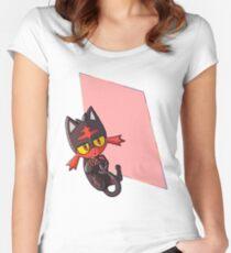 Litten Women's Fitted Scoop T-Shirt