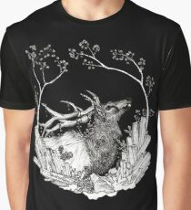 Elk of The Woods Graphic T-Shirt