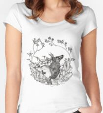 Elk of The Woods Women's Fitted Scoop T-Shirt