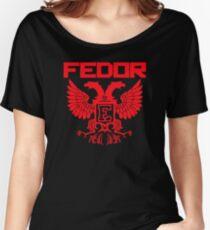 Fedor Emelianenko Last Emperor MMA Women's Relaxed Fit T-Shirt