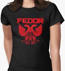 Fedor Emelianenko Last Emperor MMA Womens Fitted T-Shirt