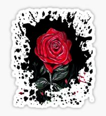 Night Rose Sticker
