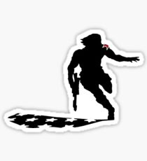 Winter Soldier Sticker
