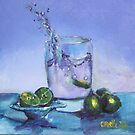 A splash of lime by christine purtle