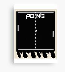 Instant Pong Canvas Print