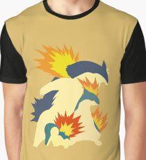 Cyndaquil Evolution Graphic T-Shirt