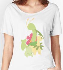 Chikorita Evolution Women's Relaxed Fit T-Shirt