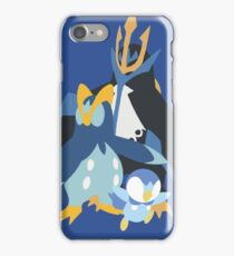 Piplup Evolution iPhone Case/Skin