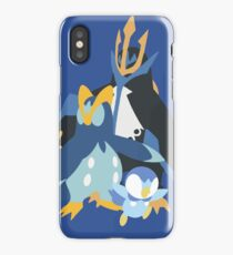 Piplup Evolution iPhone Case