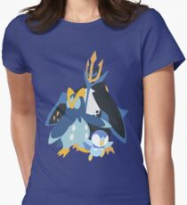 Piplup Evolution Women's Fitted T-Shirt