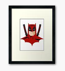 BatPool Framed Print