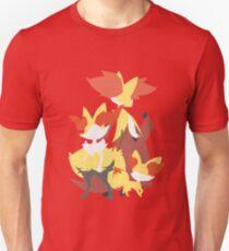 Fennekin Evolution Unisex T-Shirt