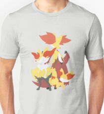 Fennekin Evolution Unisex T-Shirt