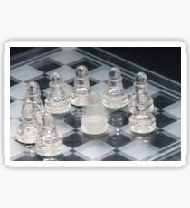 Chess Surrounded Sticker