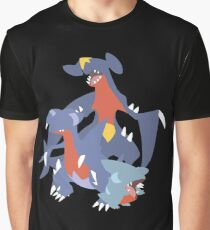 Gible Evolution Graphic T-Shirt