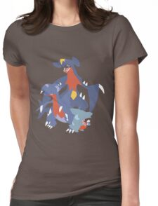 Gible Evolution Womens Fitted T-Shirt
