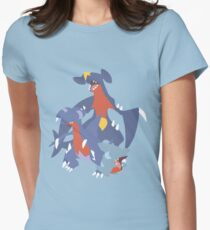 Gible Evolution Women's Fitted T-Shirt