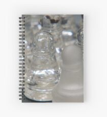 Chess Following 2 Spiral Notebook