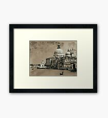 One day in Venice Framed Print
