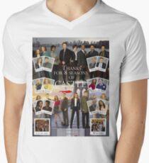 Thanks Castle Men's V-Neck T-Shirt