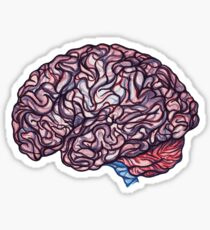 Brain Storming - Pink Sticker