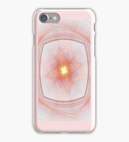 Pastel Inner Light Fractal  iPhone Case/Skin