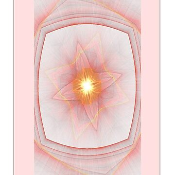 Pastel Inner Light Fractal  by judygal
