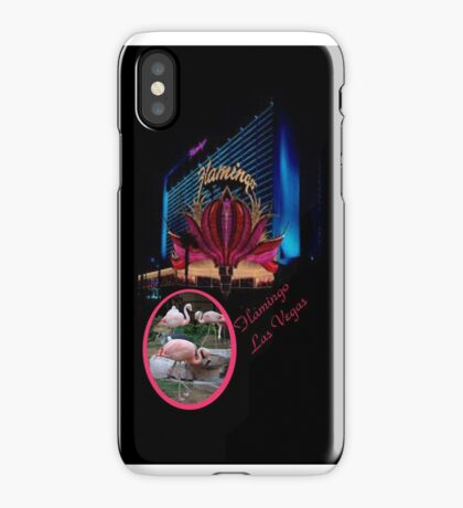 The Flamingo - Las Vegas Collection. iPhone Case/Skin