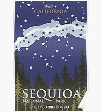 Sequoia National Park. Poster
