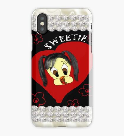 Sweetie With Diamonds iPhone iPhone Case/Skin