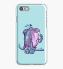 Purple Monster iPhone Case/Skin